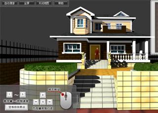 小别墅WEB-3D漫游展示