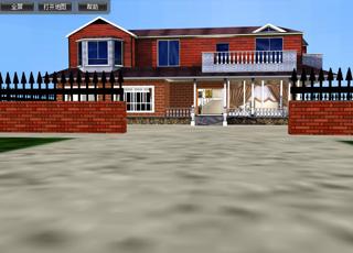 张家口金蚂蚁科技开发别墅WEB-3D漫游展示